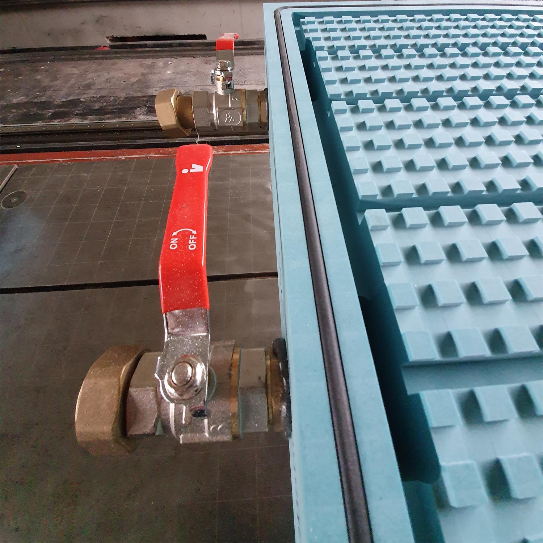 Vakuumplatte, Vakuumspanntisch zum Spannen von Werkstücken bei CNC-Fräsarbeiten