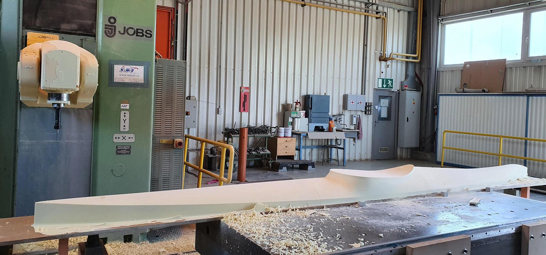CNC fräse Kajak